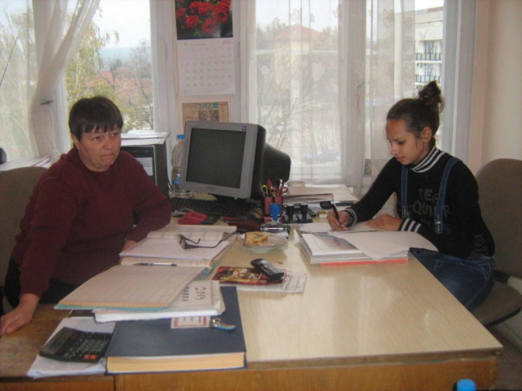 Деница на уч. практика в кметство Лехчево