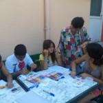 Занимание на групата за допълнително обучение по математика в прогимназиален етап